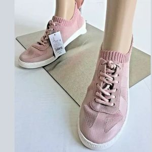 Mad Love Jaycie Lace up Knit Sneakers